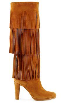 Stuart Weitzman boot, $845, neimanmarcus.com.   - HarpersBAZAAR.com