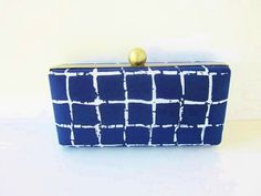 clutch purse/Oscar de la Renta silk/bridesmaid by VincentVdesigns, $46.00