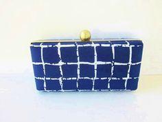 clutch purse/Oscar de la Renta silk/bridesmaid by VincentVdesigns, $46.00