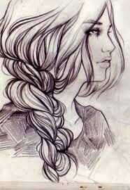 Art-i love how they drew the braid :)
