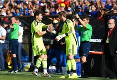 Salgado: Having Casillas and De Gea is incredible for Spain