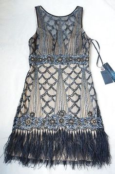 My Senior Formal Dress that I love! 20's inspired and so cute!