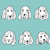 Great colorful dog prints by Dean Russo Image of Sweet