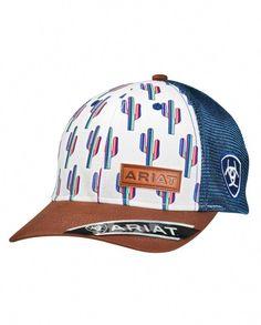 60fa751d39150 Ariat® Ladies  Cactus Logo Cap - Fort Brands I have this one 😍😍😍