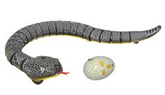 This remote-controlled snake is awesome.