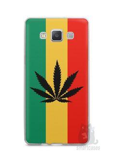 Capa Capinha Samsung A7 2015 Rasta Weed #2 - SmartCases - Acessórios para celulares e tablets :)