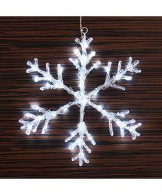 Si vous aimez Noël et les décorations originales, le flocon de neige décoratif (48 LED) est fait pour vous. HVboutique.com