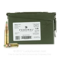 Image 1 of 5.56x45 Ammo (AR-15) from Federal