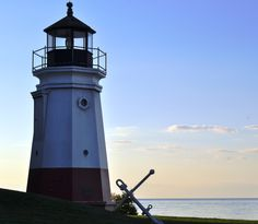 Lighthouse in Vermilion Ohio