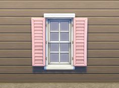 ModTheSims - Separate Window Shutters