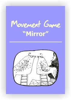 FREE DRAMA GAME~Mirror~ In pairs, players face each other. They choose one person to lead and one person to follow. The goal of the game is for the players to feel completely in sync with one another. Read more... https://www.dramanotebook.com/drama-game