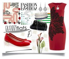 """""""Flats"""" by jeneric2015 ❤ liked on Polyvore featuring Khristian Howell, Bloch, Bling Jewelry, River Island and grannyflats"""