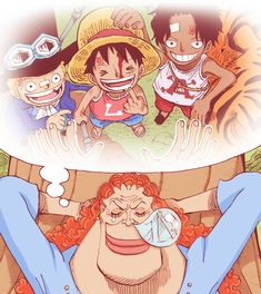 Sweet dreams/Daden,Sabo, Luffy,Ace/One piece