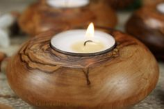 Kerzenhalter aus Holz - Pesquisa Google