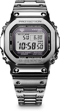 Casio G-Shock - GMW-B5000:昔メタルGてのがあったけどコレ更に良くできてるなー。なかなか。