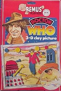 John Kenneth Muir's Reflections on Cult Movies and Classic TV: Doctor Who (Fourth Doctor) 3-D Clay Picture (Remus...