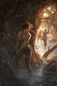 Andy Park Art - TOMB RAIDER