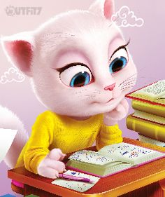 Cute little bits and bobs – books, movies, music… xo, Talking Angela #mytalkingangela #littlekitties #talkingangela