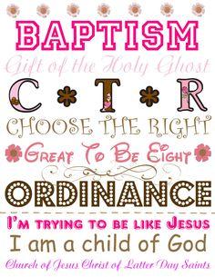 Baptism gift