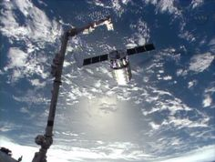 The Canadarm2 released Orbital Sciences' Cygnus commercial craft at 7:31 a.m. EDT Tuesday after three weeks at the International Space Station.