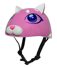 Take a look at this Raskullz Pink Cutie Cat Helmet on zulily today!