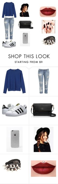 """Untitled #43"" by karenrodriguez-iv on Polyvore featuring 2nd Day, adidas Originals, Kate Spade, LA: Hearts and ASOS"