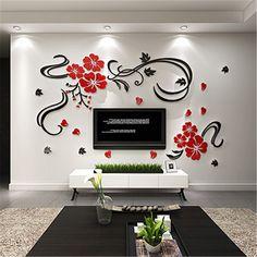 encontrar ms pegatinas de pared informacin acerca de feliz vid de la flor cristal de acrlico