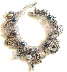 Once Upon A Time Jewelry Charm Bracelet , Story Book TV show bracelet, gift, jewelry. $33.99, via Etsy.