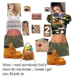 """""""rolling with bestie"""" by flawlesssqueen ❤ liked on Polyvore featuring NLY Accessories, Zero Gravity, Sole Society, Timberland, Ray-Ban, women's clothing, women, female, woman and misses"""