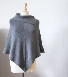 New pattern release price listed. No coupon required. Regular price is $7.00 CAD. Rowena poncho is knit in the round from the top down using stockinette and garter stitches. Deep collar and bottom ...