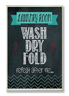 The Stupell Home Decor Collection Wash Dry Fold Chalkboard Bath Wall Plaque The Stupell Home Decor Collection http://smile.amazon.com/dp/B00MBEJJ00/ref=cm_sw_r_pi_dp_OQpwvb08B6T6J