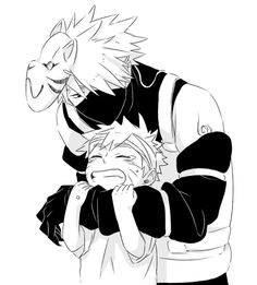 #Kakashi Hatake & #Naruro Uzumaki by manoi on Tumblr
