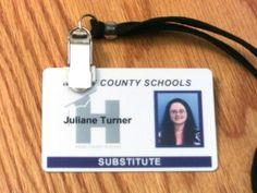 Oops!  My adventures in attempting to get a Photo ID Badge for substitute teaching. schoolingtheteacher.wordpress.com