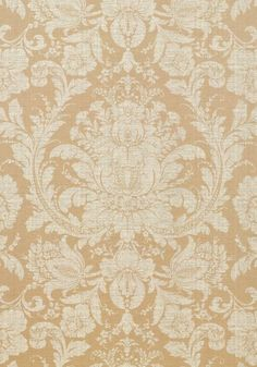 Mumford #wallpaper in #pearl from the Damask Resource 3 collection. #Thibaut #Damask