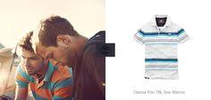 Nova Camisa Polo, produzida com 70% de algodão orgânico. Caimento e visual perfeitos! #moda #look #camisapolo.
