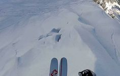 Huge Cliff drop – 13 Tomahawk session