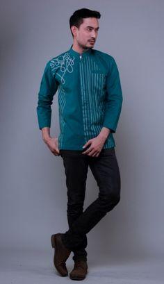 Desain Baju Koko Baju Muslim Bordir Baju Muslim