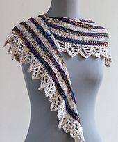 Ravelry: Old and New Shawl pattern by Iris Schreier