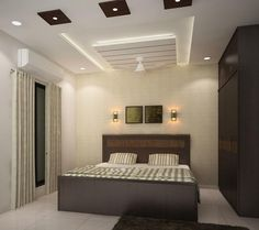 Simple ceiling design showing gallery for simple false ceiling with Interior Ceiling Design, House Ceiling Design, Ceiling Design Living Room, Bedroom False Ceiling Design, Home Lighting Design, False Ceiling Living Room, Bedroom Ceiling, Lighting Ideas, Bedroom Lighting
