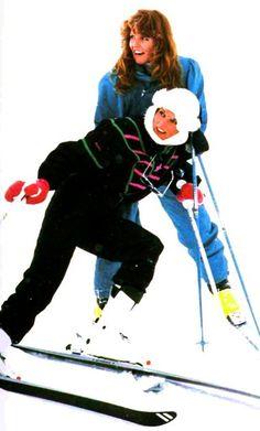 Royals à Klosters - Février 1987