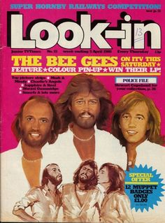 April 1980, The Bee Gees. The End Is Near, 80s Tv, Old Comics, Great Stories, Comic Character, Magazines, Pin Up, Nostalgia, The Past