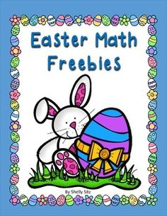 Easter Math Freebie--7 FREE math pages for second grade