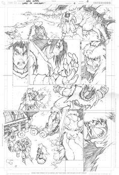 Warcraft comics1 pencils 6 by LudoLullabi.deviantart.com on @deviantART