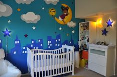 Project Nursery - Moon and Stars Nursery