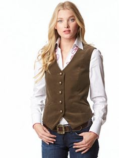 TheMogan PLUS White Trim Solid Long Sleeveless Jacket Dress Up Belted Vest