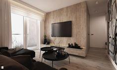 Salon styl Minimalistyczny - zdjęcie od ELEMENTY - Salon - Styl Minimalistyczny - ELEMENTY Scandinavian Home, Minimalism, Home And Garden, Loft, Living Room, Interior Design, Wall, Furniture, Tv