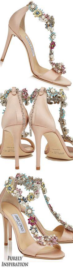 144b245899 Jimmy Choo Reign 100 Dusty Rose Embellished Sandals