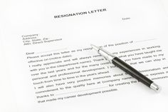 resignation letter sample with notice period samples