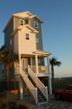 Serendipity on St. George Island, FL  Directly on the beach with 3 bedrooms, 3.5 bathrooms.