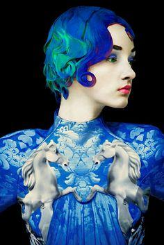 <3 Creative Fashion Photography ~ Mary Katrantzou <3